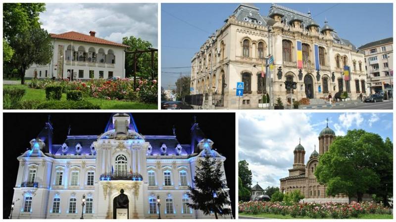 Colaj monumente din Craiova