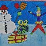 Festivalul Brazilor de Crăciun - lucrare