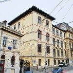 Liceul Carol I, Craiova - fațada de pe str. Ioan Maiorescu
