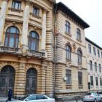 Liceul Carol I, Craiova - fațada de pe str. Mihai Viteazul