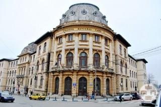Liceul Carol I, Craiova - intrarea principală