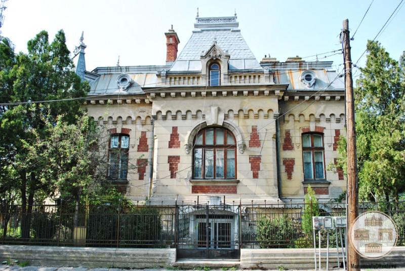 Casa Vernescu, Craiova - fațada sudică