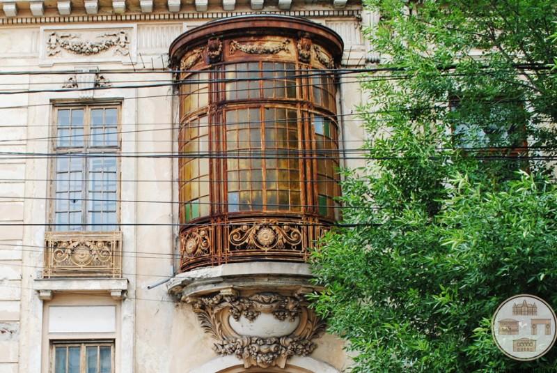 Casa Vrăbiescu, Craiova - balcon