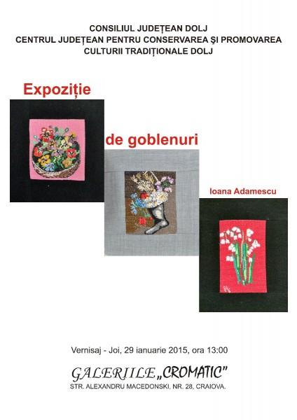 Expozitie de goblenuri - Ioana Adamescu