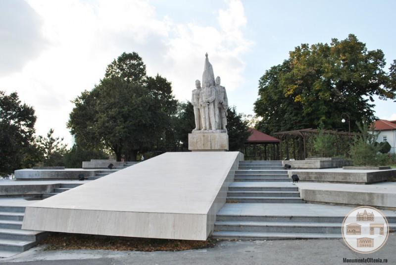 Monumentul Frații Buzești, Craiova