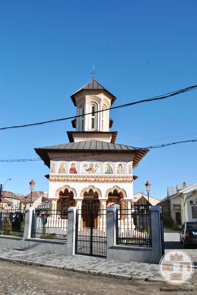 Biserica Sf Nicolae Dorobantia, Craiova - vedere frontala
