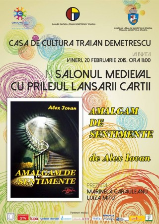 Lansare de carte Amalgam de sentimente - Alex Iovan