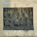 Monumentul Eugeniu Carada, Craiova - basorelief