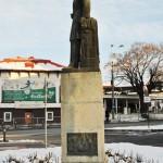 Monumentul Eugeniu Carada, Craiova - vedere laterala