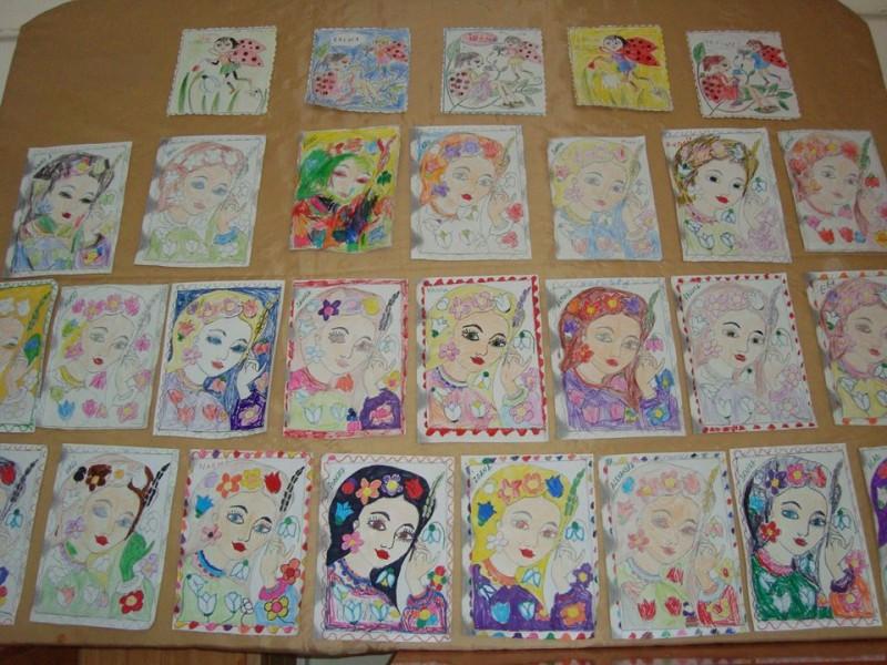 Ateliere de creatie pentru copii la Casa Baniei, cu ocazia zilei de 8 Martie