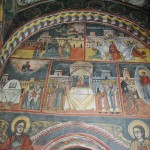 Biserica din Targ, Horezu - pictura interioara (1)