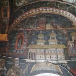 Biserica din Targ, Horezu - pictura interioara (3)