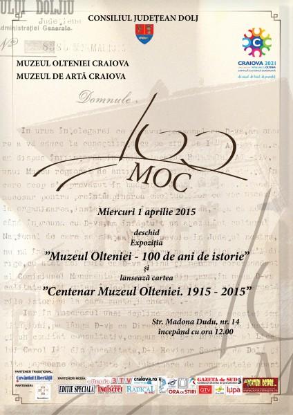 Centenar Muzeul Olteniei Craiova