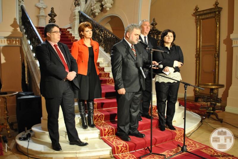 Inaugurarea Muzeului de Arta din Craiova - discursuri
