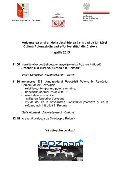Program manifestari