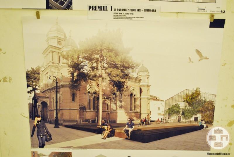 Proiectul castigator pentru amenajarea piatetei Sf Ilie din Craiova