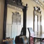 Casa Ionel Plesia, azi Biblioteca Omnia Craiova - detalii hol etaj
