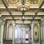 Casa Ionel Plesia, azi Biblioteca Omnia Craiova - hol parter