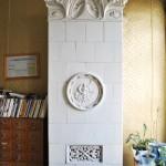Casa Ionel Plesia, azi Biblioteca Omnia Craiova - soba teracota