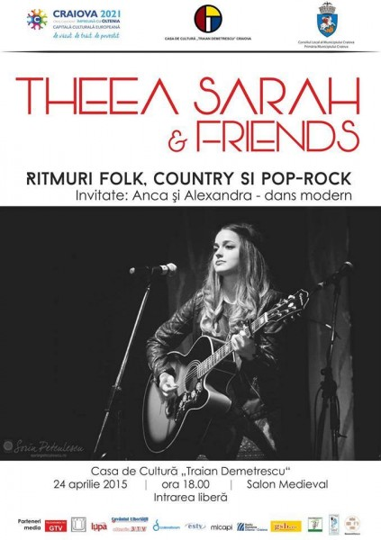 Concert Theea Sarah la Craiova