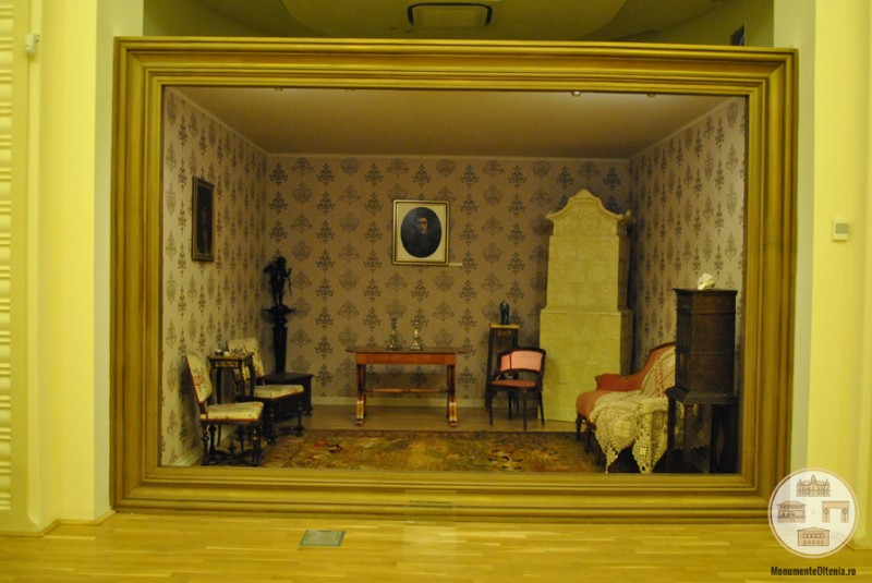 Muzeul Olteniei - Interior Casa Romanescu