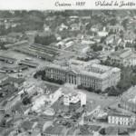 Palatul de Justitie - Universitatea din Craiova, 1937, vedere aeriana