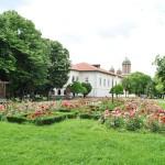 Casa Baniei, Craiova - vedere din Gradina Baniei (1)