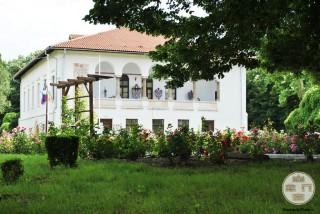 Casa Baniei, Craiova - vedere din Gradina Baniei (2)