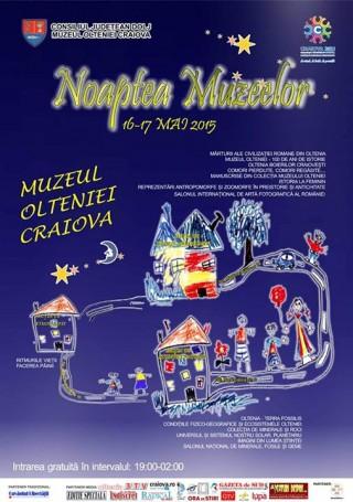 Noaptea Muzeelor 2015 la Muzeul Olteniei