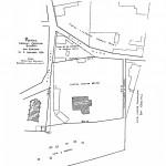 Plan Casa Baniei la 1780 - sursa Arhivele Olteniei