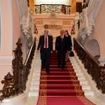 Ambasadorul in vizita la Muzeul de Arta din Craiova (1)