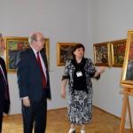 Ambasadorul in vizita la Muzeul de Arta din Craiova (2)