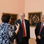 Ambasadorul in vizita la Muzeul de Arta din Craiova (3)