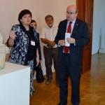 Ambasadorul in vizita la Muzeul de Arta din Craiova (4)