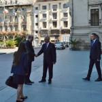 Ambasadorul primit la Palatul Administrativ din Craiova (1)