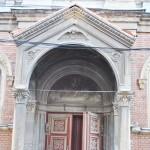 Biserica Sf Ilie, Craiova - detalii intrare
