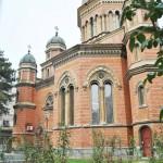 Biserica Sf Ilie, Craiova - imagine cu gradina inainte de desfiintare