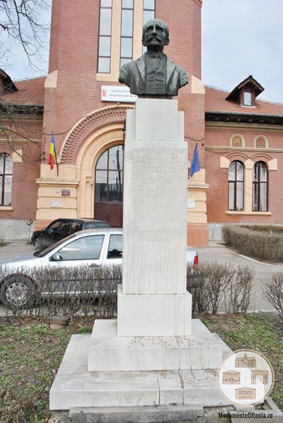 Bustul lui Stefan Velovan, Craiova