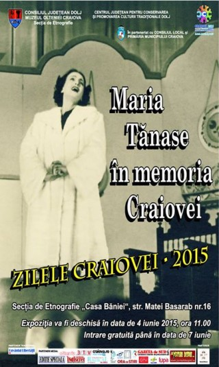 Maria Tanase in memoria Craiovei