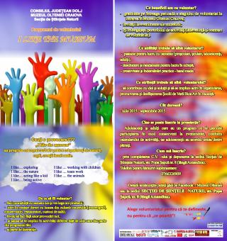 Program voluntariat Muzeul Olteniei