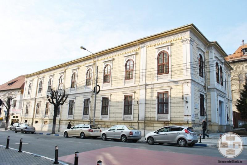 Scoala Otetelesanu, Craiova - fatada sudica