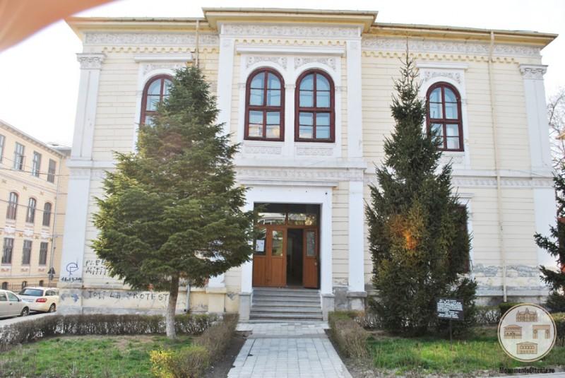 Scoala Otetelisanu, Craiova - intrare