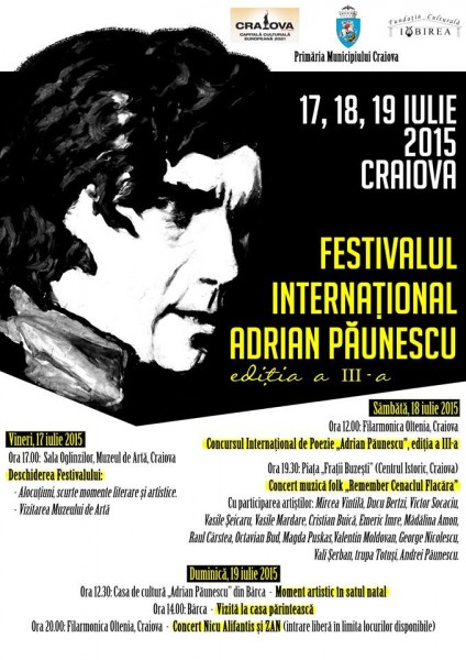 Festivalul International Adrian Paunescu 2015