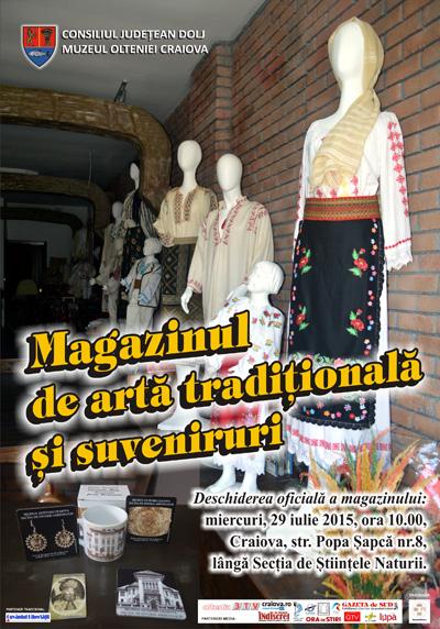 Magazinul de arta traditionala si suveniruri - Muzeul Olteniei Craiova