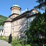 Manastirea Cozia - Biserica Sf Treime - latura nordica