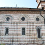Manastirea Cozia - Biserica Sf Treime - latura sudica