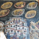 Manastirea Cozia - Biserica Sf Treime - pictura pridvor (1)