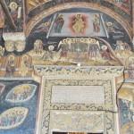 Manastirea Cozia - Biserica Sf Treime - pisanie