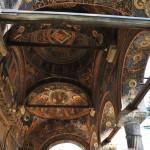 Manastirea Cozia - Biserica Sf Treime - pridvor
