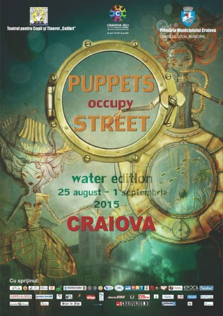 Afis Puppets Occupy Street 2015